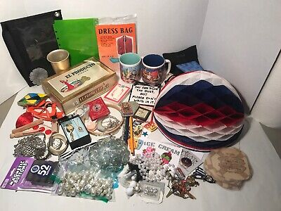HUGE VINTAGE TO NOW JUNK DRAWER LOT, Watches, Craft, Jewelry, Sewing, etc