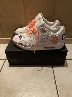 Nike Air Max 1 Just do it White WMNS US11,5 UK9 EU44 DS