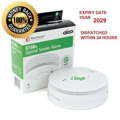 Aico Ei166e  Mains Powered Optical Smoke Alarm 160 E Series NEW EXPIRES 2029