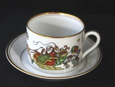Fitz & Floyd Christmas St Nicholas Cup & Saucer - Need A Replacement?