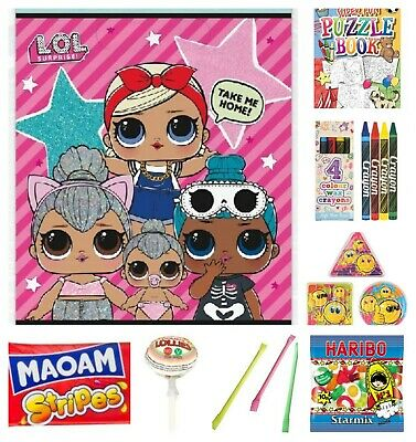 LOL Surprise Pre Filled Loot Bag Children's Kids Birthday Party Bags Gift