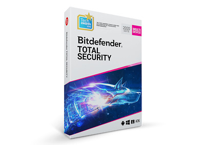 BITDEFENDER TOTAL SECURITY  2020 - 6 Months 5 DEVICES ACTIVATION