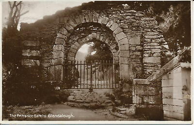 PC00159 Ireland. Entrance Gate to Glendalough. Made in Germany