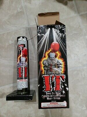 IT Kit Firework Label With Tube Collectible Artwork