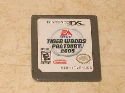 Tiger Woods PGA Tour 2005 (Nintendo DS, 2004) - Game ONLY - Tested - 3DS