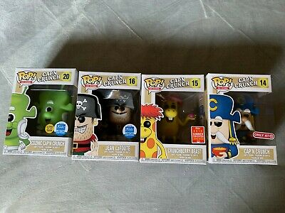 Funko Pop - Ad Icons - Cap'n Crunch Cereal Lot of 4 - All are Exclusives