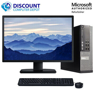 "Dell Desktop Computer🚩16GB 2TB HD 512GB SSD Quad Core i5🚩Windows 10 PC 22"" LCD"