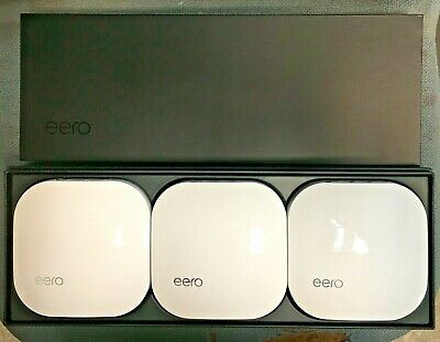 **Eero 3 Pack Home Band True Mesh Wifi System Extender A010001**