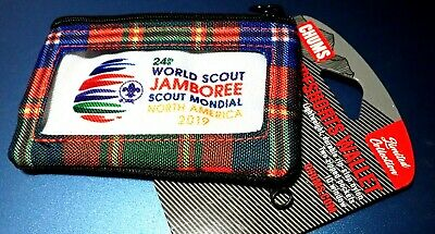 SOLD OUT 24th 2019 WORLD SCOUT JAMBOREE OFFL WSJ WOSM SURFERS WALLET NOT PATCH