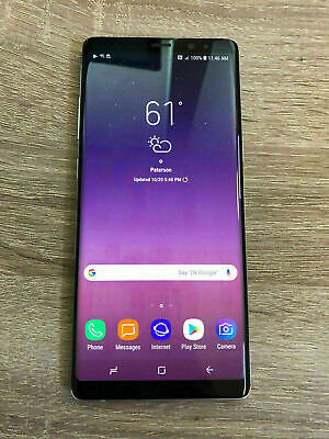 New Replacement Samsung Orchid Gray T-Mobile Galaxy Note 8 Sm-N950 64Gb