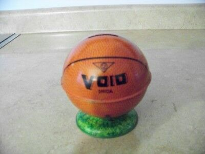Vintage Metal Void Official Basketball Ball Bank Free Shipping