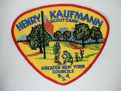 Henry Kaufmann Scout Camp Greater New York Councils BSA Boy Scouts America Patch