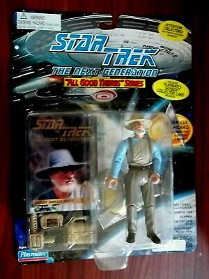 """1995 Star Trek Tng All Good Things 5"""" Jean Luc Picard Retired Figure - New"""
