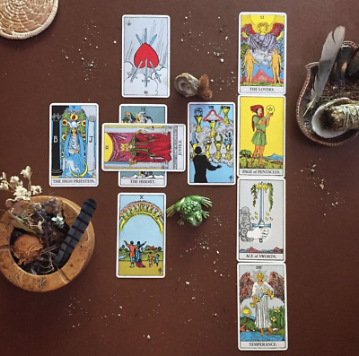 Psychic 10 Card Tarot Reading In-Depth Email Clairvoyant Empath