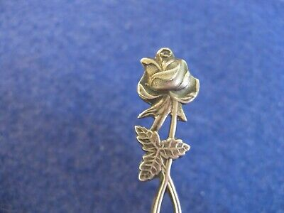 Finland/Finnish .813 Silver Cocktail Fork....nice Floral....1965 Date Mark