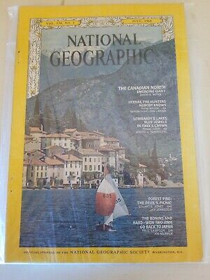 National Geographic VOL 134, NO.1 July, 1968