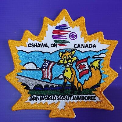 24th World Scout Jamboree 2019 Contingent OFFICIAL PATCH CANADA #3 2019 WSJ
