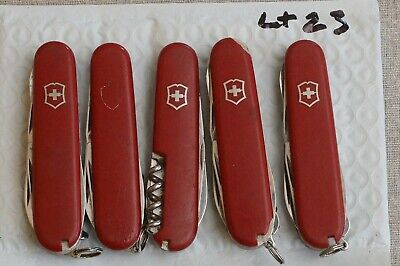5 TSA Confiscated misc. victorinox  swiss army Knives Knife Folding 91mm