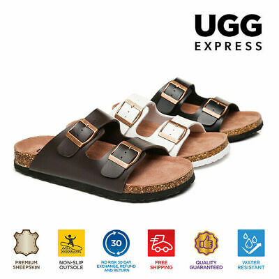 AS UGG Summer Womens Mens Beach Casual Slip-on slides Mick