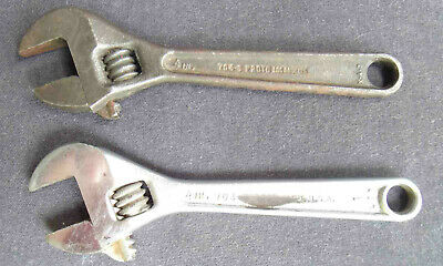 PROTO 4 Inch Adustable Wrench X.4.3 No. 704-S Los Angeles Plus Unknown Wrench