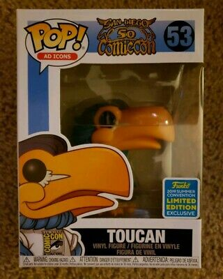 Funko Pop! SDCC 2019 Toucan #53 Ad Icons Funko Shop Shared Exclusive