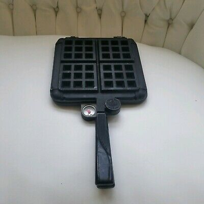Vintage Nordic Ware Cast Iron Stovetop Waffle Maker