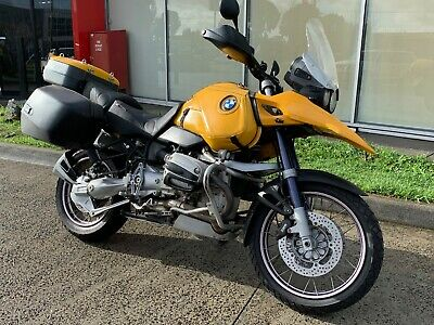 BMW R1150 GS ABS 2002 Adventure Touring Road Bike R 1150 Yellow