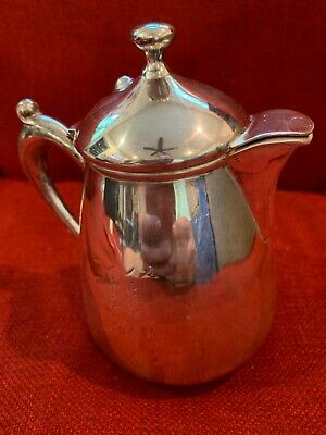 Vintage Small Tea Pot Silver Plated, Essex Silver Co., #1680