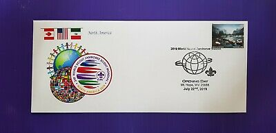 24th world scout jamboree 2019 / FIRST DAY Postmark on USPS official cover FDC