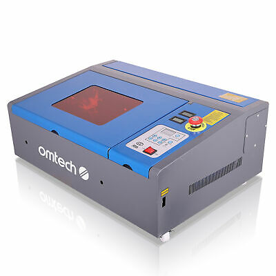 "40W CO2 Laser Engraver Engraving Cutting 8X12"" LCD Red Dot Pointer USB DIY"