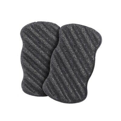 Konjac Sponge Set with Activated Bamboo Charcoal - Body & Facial Sponge Dee G2Y2