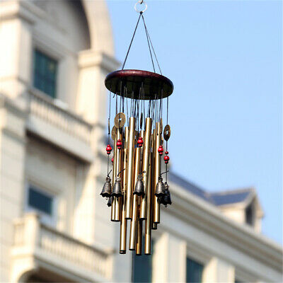 Handcraft Metal Long Wind Chime Garden Yard Charm Hanging Window Ornament 1 Pcs