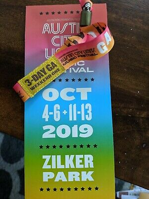 Austin city limits Weekend 1 3 day GA