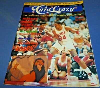 1994 Card Crazy Magazine Book Australian Edition 80 Pg + Cards Price Guide Rare