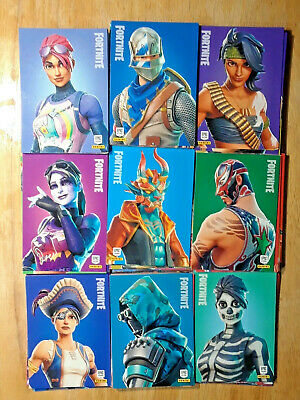 2019 Panini Fortnite Series 1 Cards 100X RARE OUTFIT Card Lot Set - NM/M