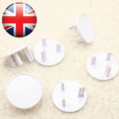 Plastic Baby Safety Children Protector British Socket Cover Power Outlet