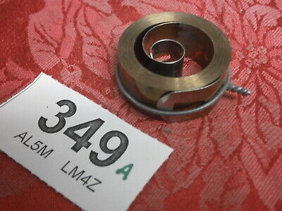 Clock Mainspring 14.5 x .32 x 35 mm Good Stock part mantle wall skeleton bracket