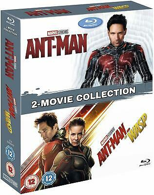 Ant-Man 1 & 2 Double pack Blu-ray New UNSEALED MINOR BOX WEAR