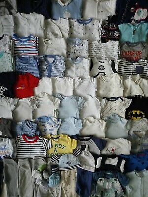 Massive Baby Boys Clothes Bundle 3 - 6 Months/Over 50 Items