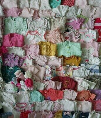 Massive Baby Girls Clothes Bundle 0 - 3 Months/70+ Items