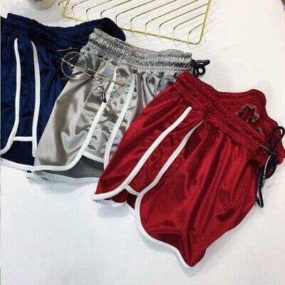 Women Summer Casual Loose Running Sports Shorts Gym Fitness Yoga Beach Pants NEW