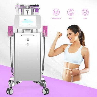 9IN1 Unoisetion Cavitation Radio Frequency Vacuum Cold Photon Slimming Machine