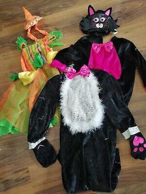 Halloween Fancy Dress Girls 1-3