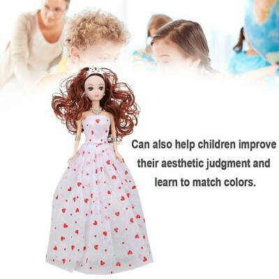 Fashion Doll Dress Clothes Toys Girl Kids Princess Christmas Gift Children's Toy