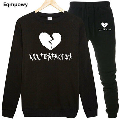 Tracksuit Sets xxxtentacion New Sports Sets Sweatshirt Sale Jogging Suit Men's