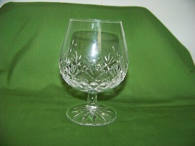Galway Irish Crystal Oranmore Signed Brandy Snifter Glass
