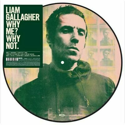 """Liam Gallagher Why Me? Why Not 12"""" Picture Disc Limited Edition Exclusive Oasis"""