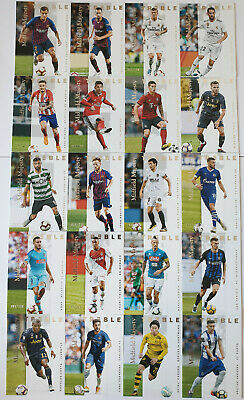 (20) Panini Treble 2018 Midfield Majesty Complete Set Isco, Kroos, Rakitic #/150