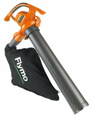 Electric Leaf Blower Vacuum FLYMO Corded Power Tool Gardens Driveway Leaves NEW