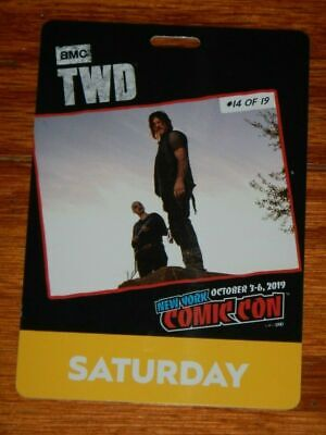 SATURDAY BADGE 2019 NEW YORK COMIC CON October 5th NYCC ticket pass oct 10/5 sat